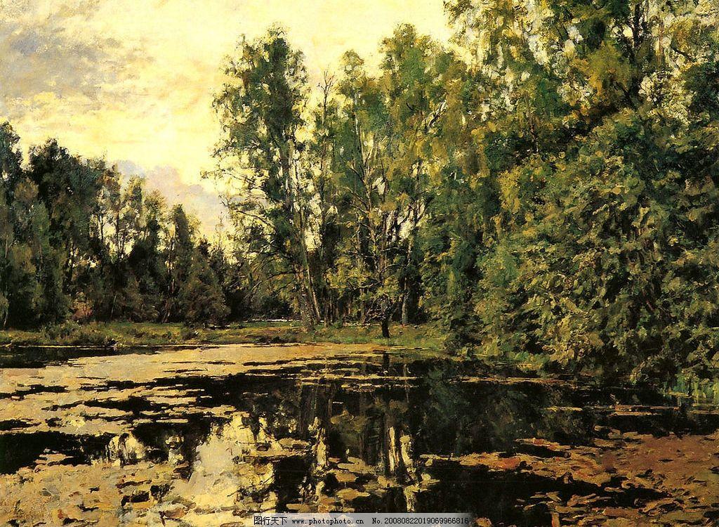 谢洛夫油画作品 俄罗斯 谢洛夫 油画作品 风景 文化艺术 绘画书法