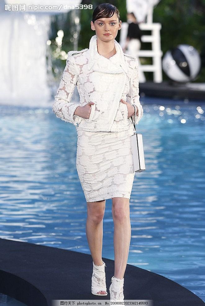 香奈儿 服装 香奈儿服装模特 白领 时装模特 美女 性感 品牌