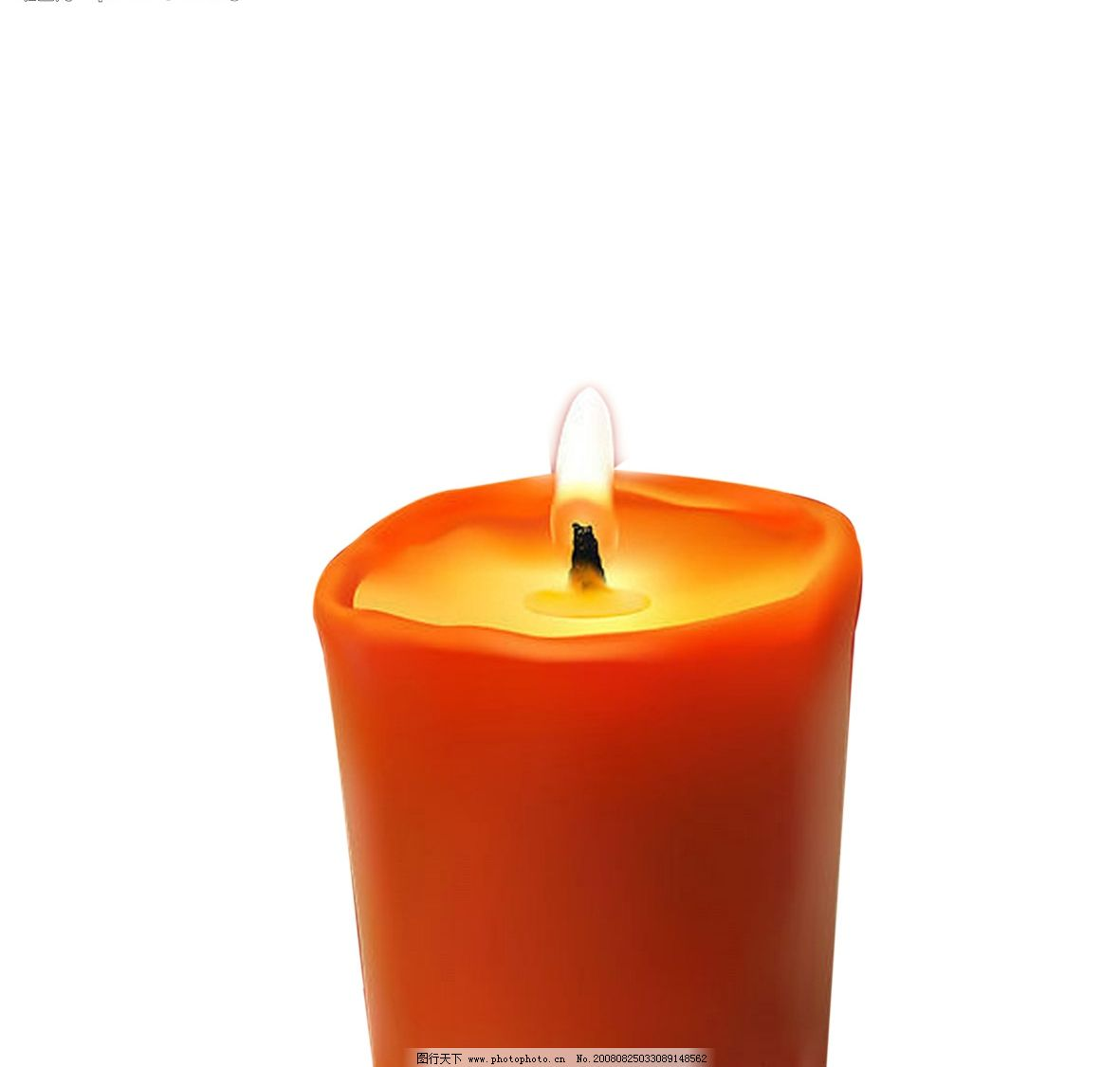 蜡烛 已抠好的蜡烛 psd分层素材 其他 抠好的蜡烛3 源文件库 300dpi