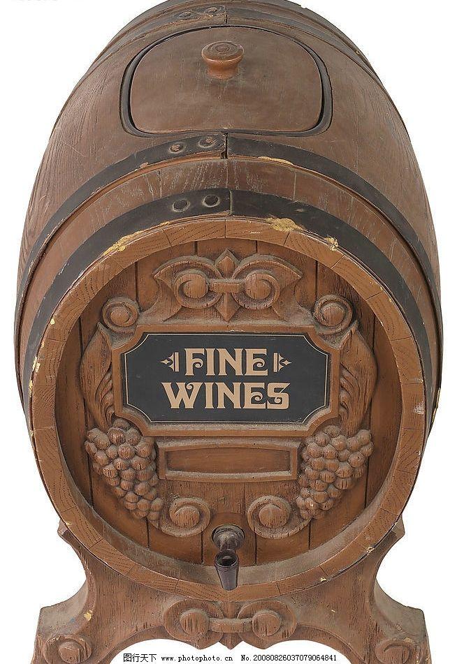 酒桶 酿酒桶 铁桶 马口铁 木雕 红酒 酒窖 橡木桶 生活百科 生活素材