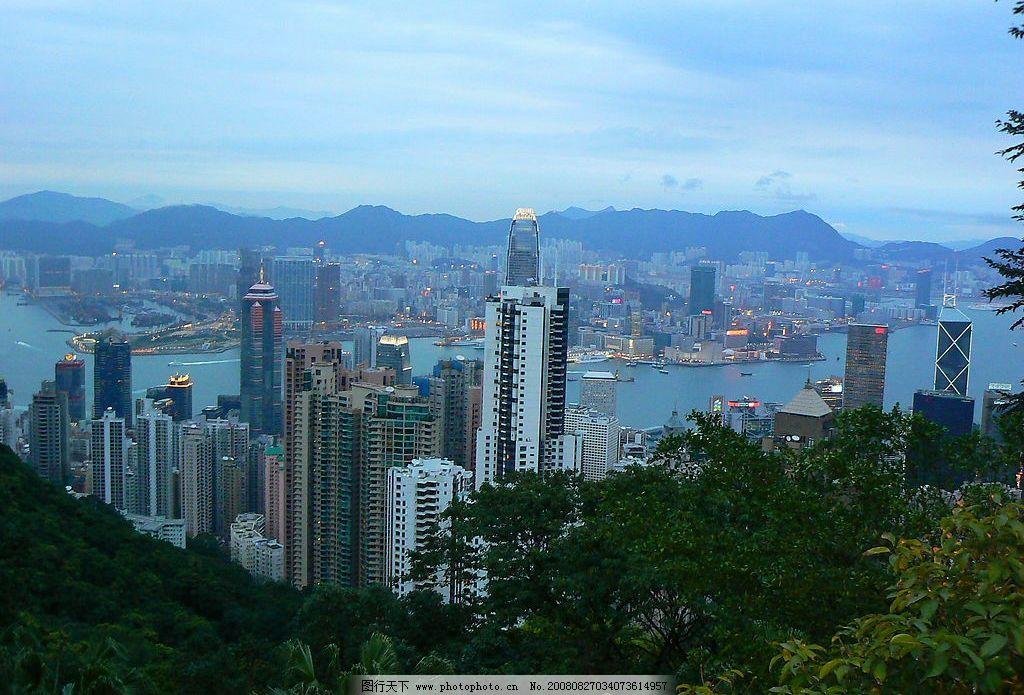 香港 维多利亚港 旅游摄影 国外旅游 港岛风情 摄影图库 72dpi jpg
