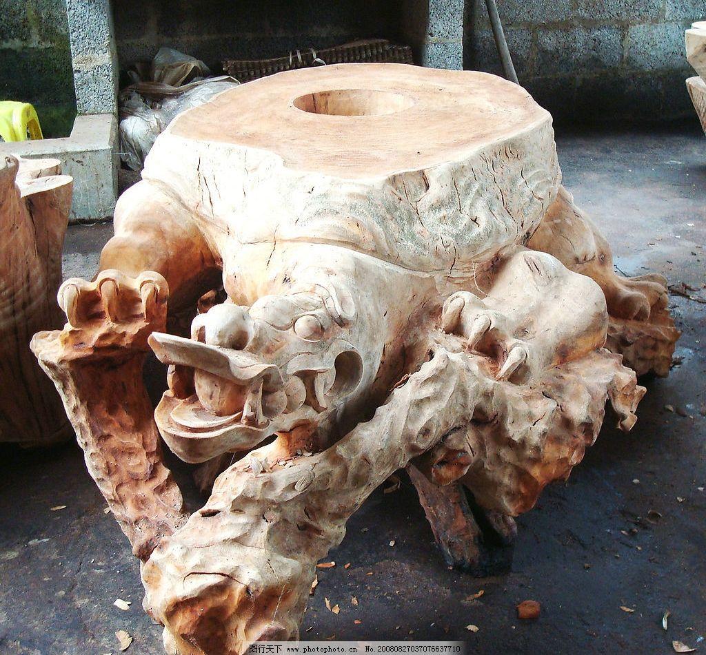 木根雕刻图片