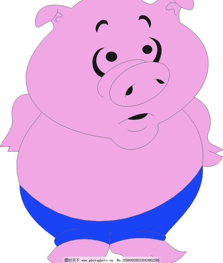 可爱的小猪猪图片