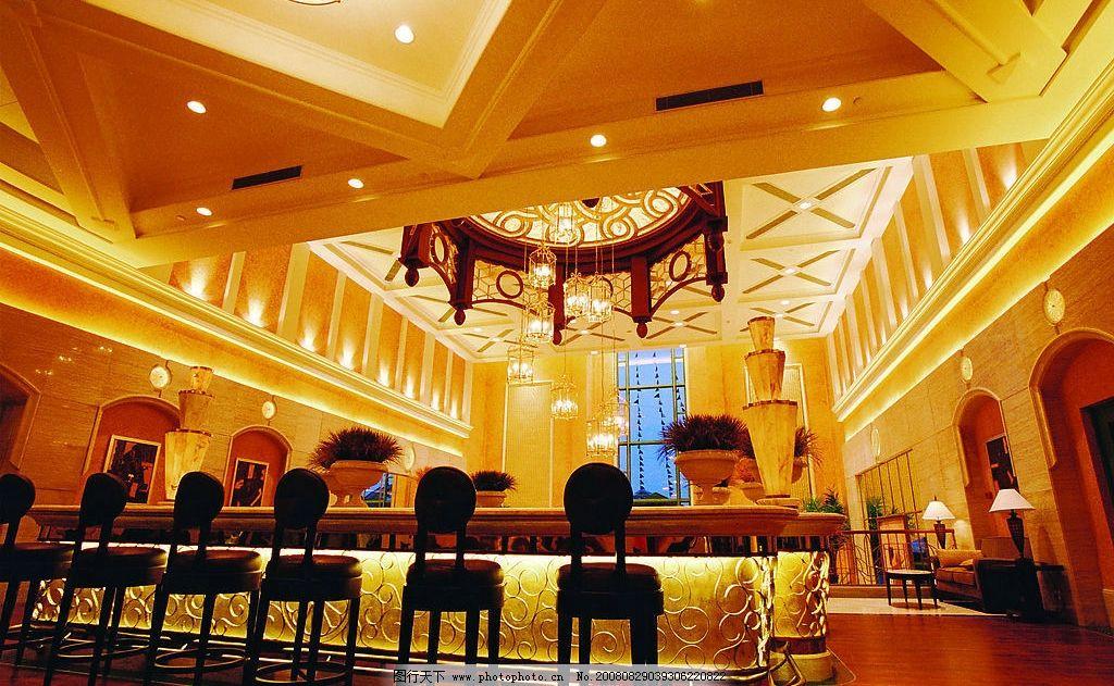 酒店大堂 豪华 欧式 奢侈 大气 建筑园林 室内摄影 摄影图库 300dpi