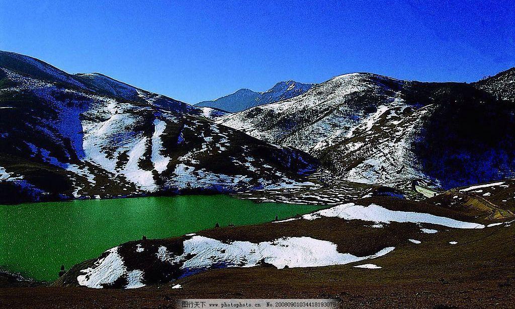 牧场雪景 凉山螺髻山牧场雪景 自然景观 山水风景 摄影图库 72dpi jpg