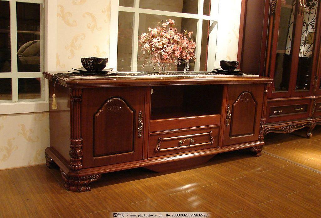 经典欧式家具厅柜(电视柜)图片