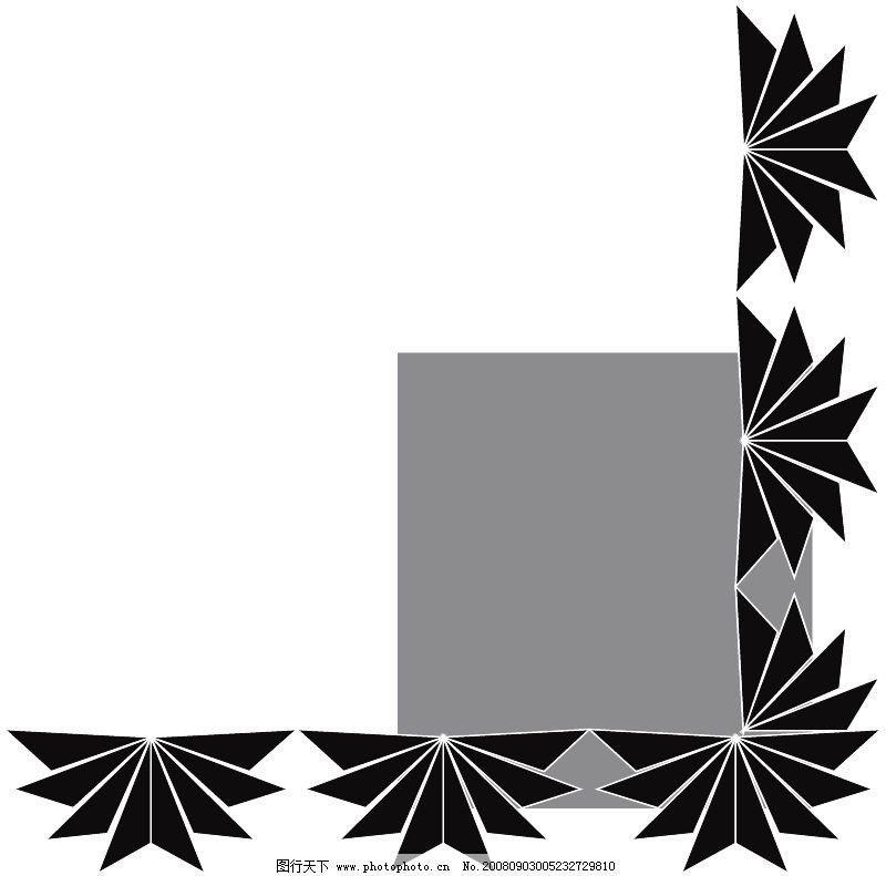 饰角0803 边框背景