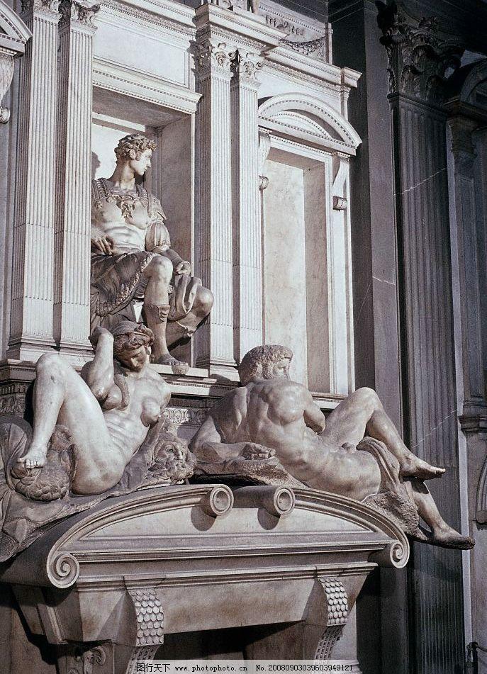 米开朗基罗雕塑2图片