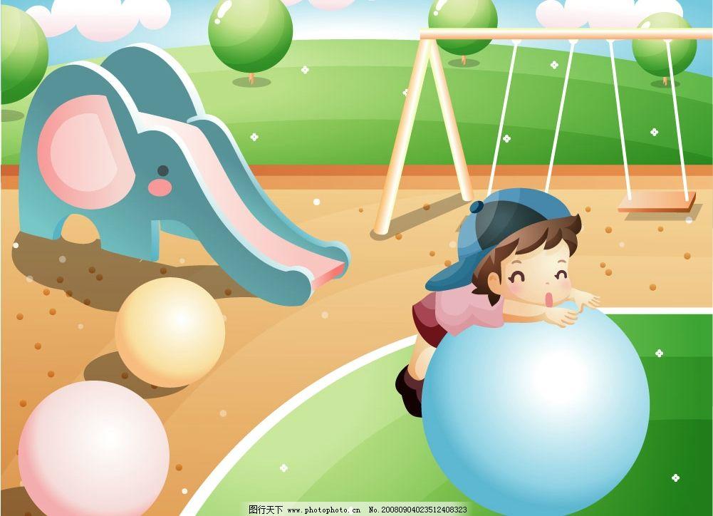幼儿园图片 幼儿园 小男孩