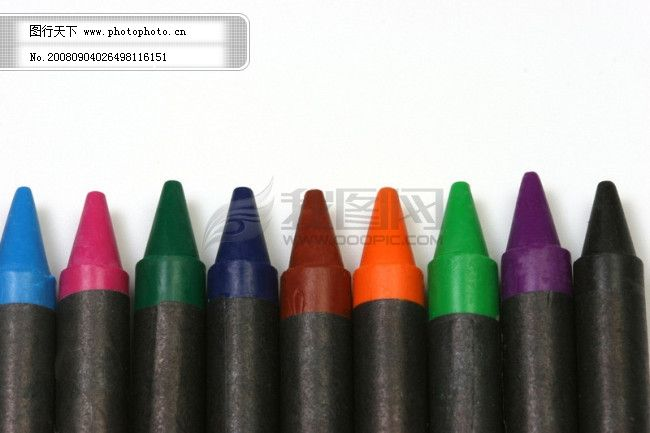 彩笔 画笔 蜡笔 铅笔 彩笔 画笔 铅笔 蜡笔 大头笔 图片素材 风景