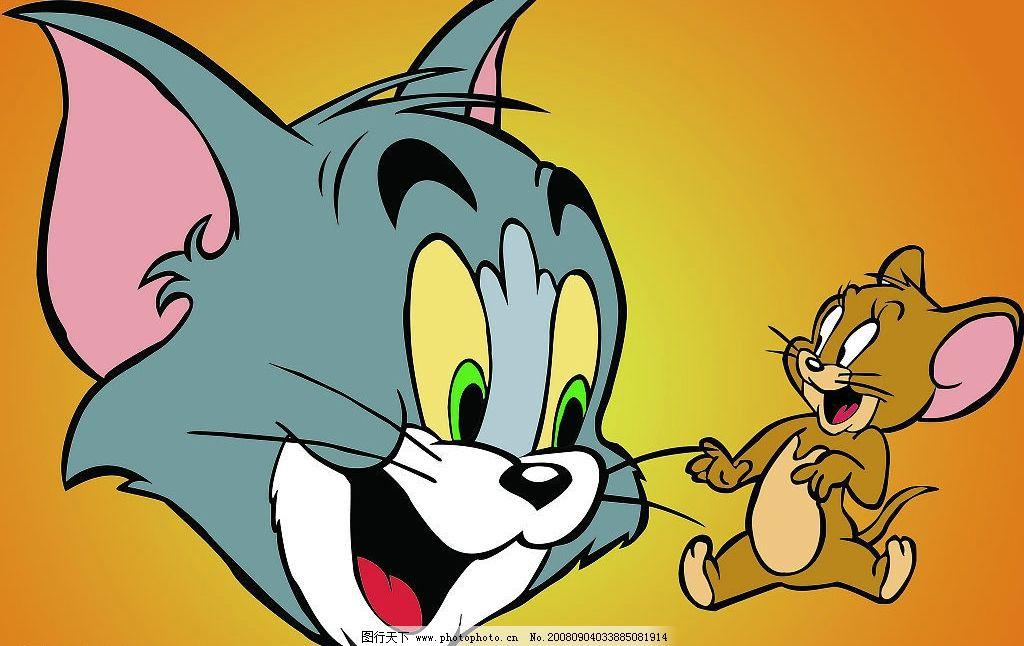 矢量猫和老鼠图片