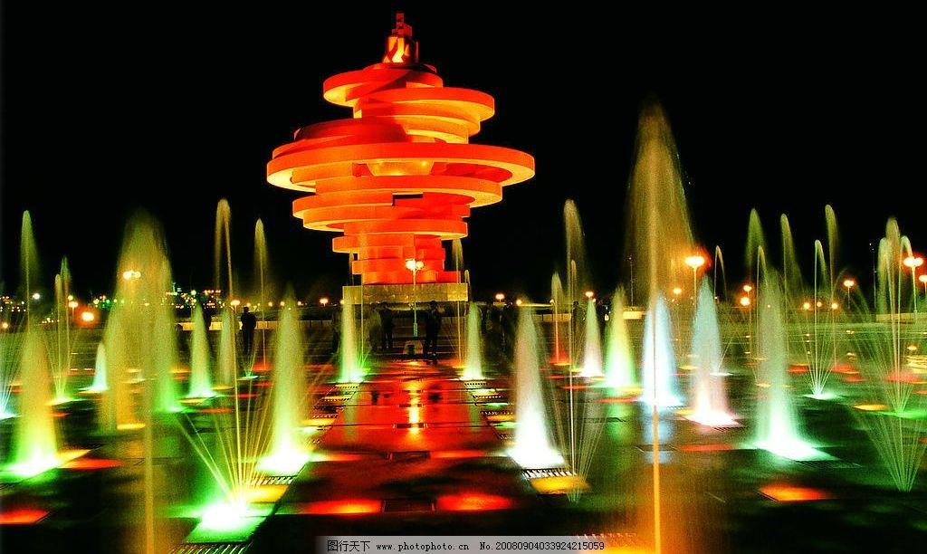 五月夜 青岛五月的风夜景 国内旅游 摄影图库