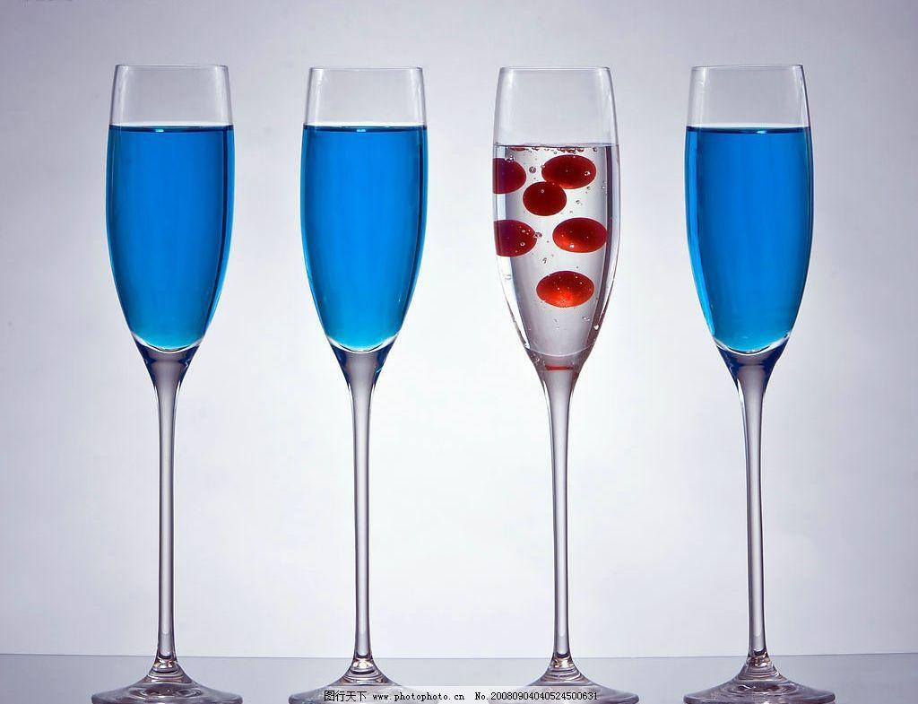 饮料杯 杯子 高脚杯 玻璃杯 酒杯 摄影图库 静物摄影 餐饮美食