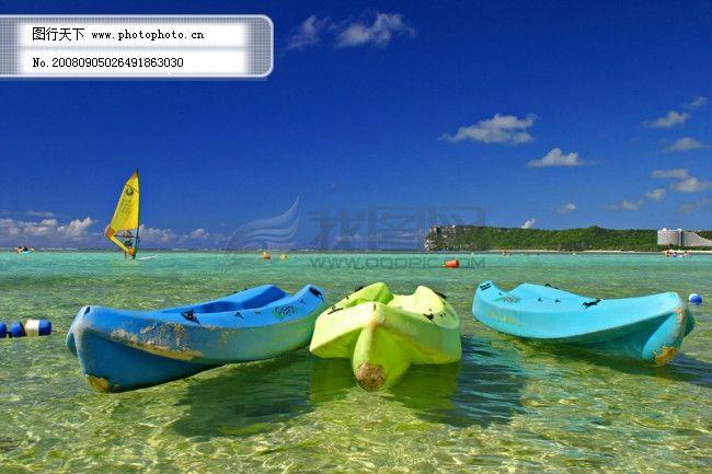 渡假地点 风景 旅游胜地 海边 沙滩天空