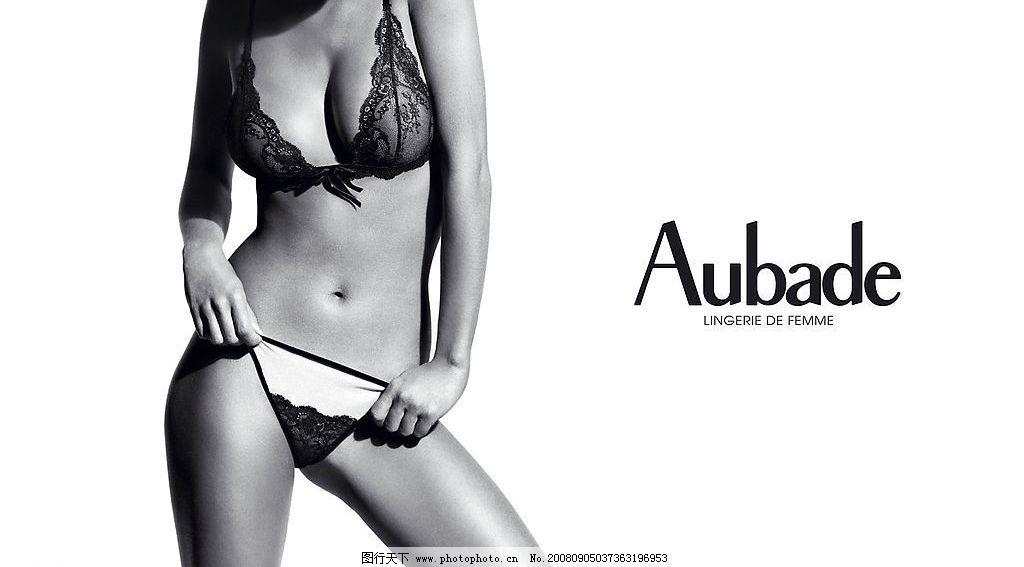 内衣广告 女模特 蕾丝花边 彩色 黑白 吊带内衣 吊带黑丝袜 吊袜带
