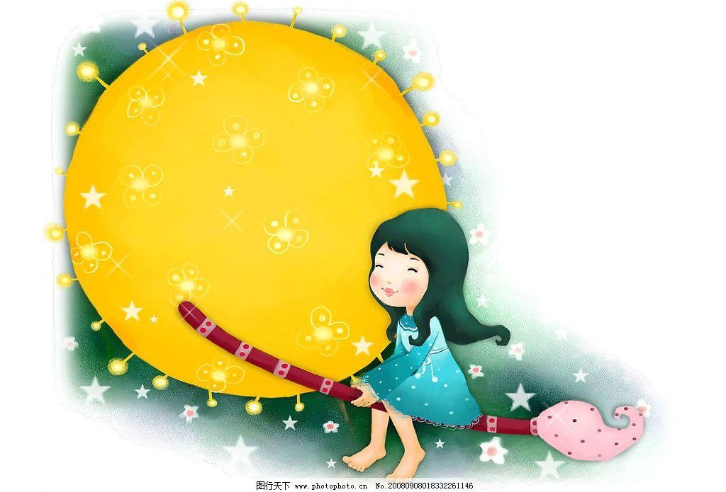 韩国卡通童年壁纸图片