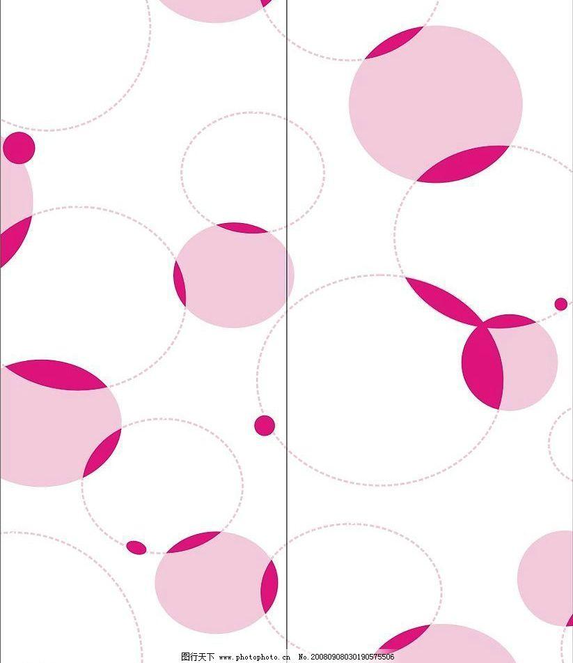 圆系列 圆圈 门艺 源文件 矢量素材 其他矢量 风景卡通矢量花纹系列