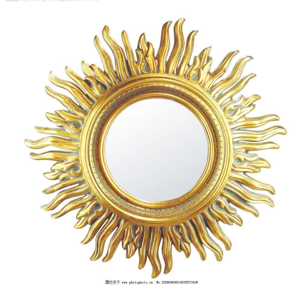 欧式镜子图片免费下载