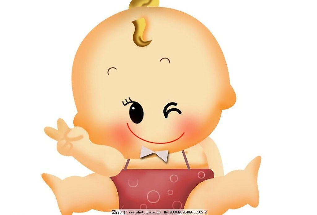 婴姿焕发 可爱宝宝 卡通宝宝 卡通小孩 大眼睛宝宝 人物图库 儿童幼儿