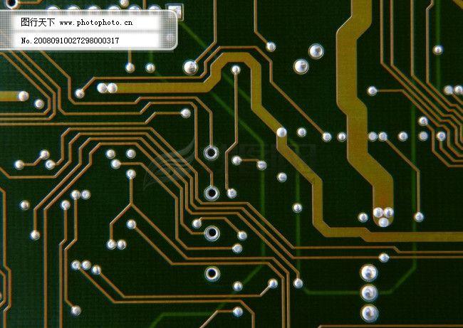 电路板 电脑仪器 炫光