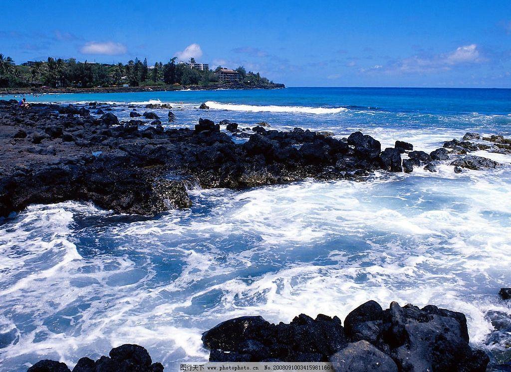 大海一角 海边岩石 旅游摄影 自然风景 摄影图库