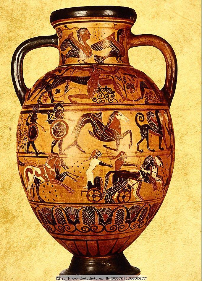 古人制作彩陶