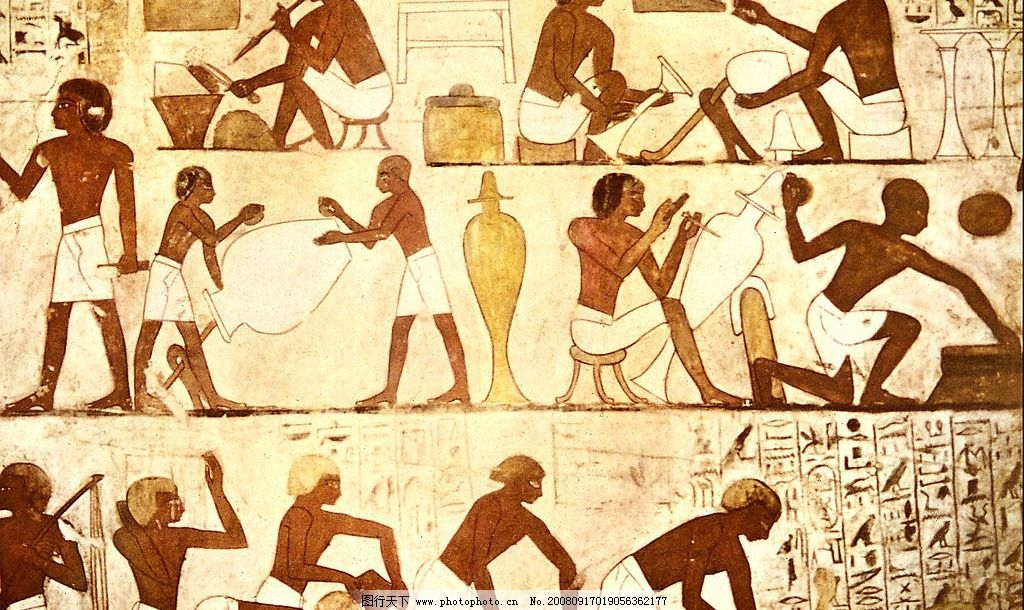 埃及壁画图片