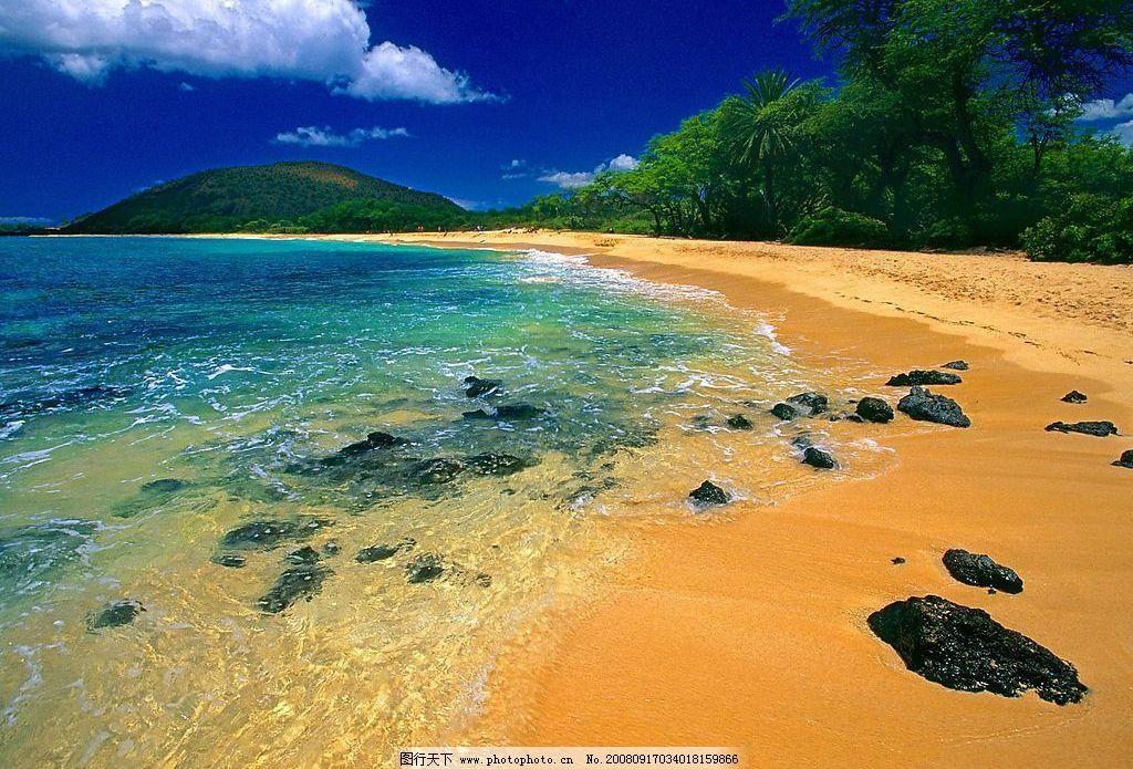 夏威夷毛伊岛海滩 国外旅游 世界各地自然风景 摄影图库