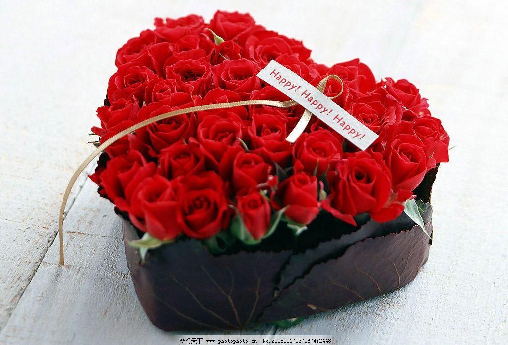 玫瑰 红玫瑰 花篮 节日 喜庆 婚礼 婚庆 祝福 祝愿 生活百科 生活素材