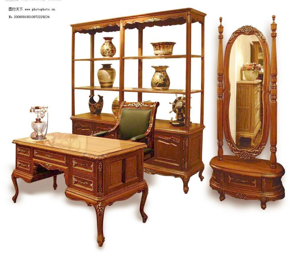 经典欧式家具书房 梳妆镜