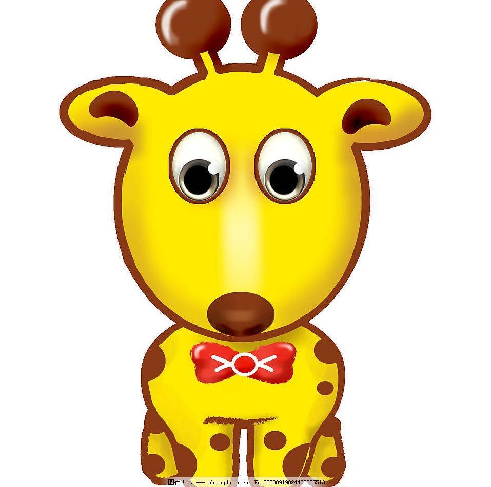 长颈鹿 可爱 非洲 生物世界 野生动物 设计图库 72dpi jpg