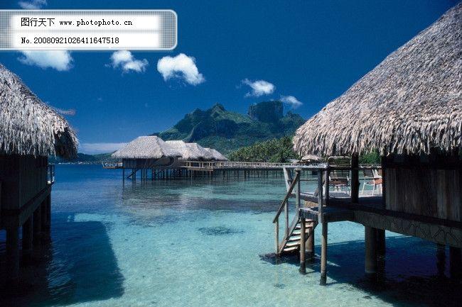 自然风景  旅游免费下载 大自然 风光 风景 广告素材大辞典 海边 海岛
