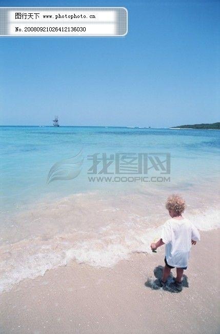 风光 风景 海边 大自然 海滩 天空 海域 海岛 广告素材大辞典 图片