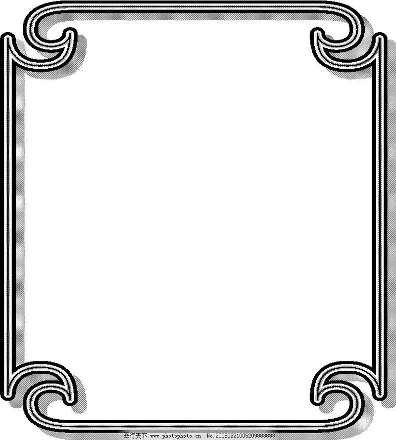 ppt 背景 背景图片 边框 模板 设计 相框 800_890
