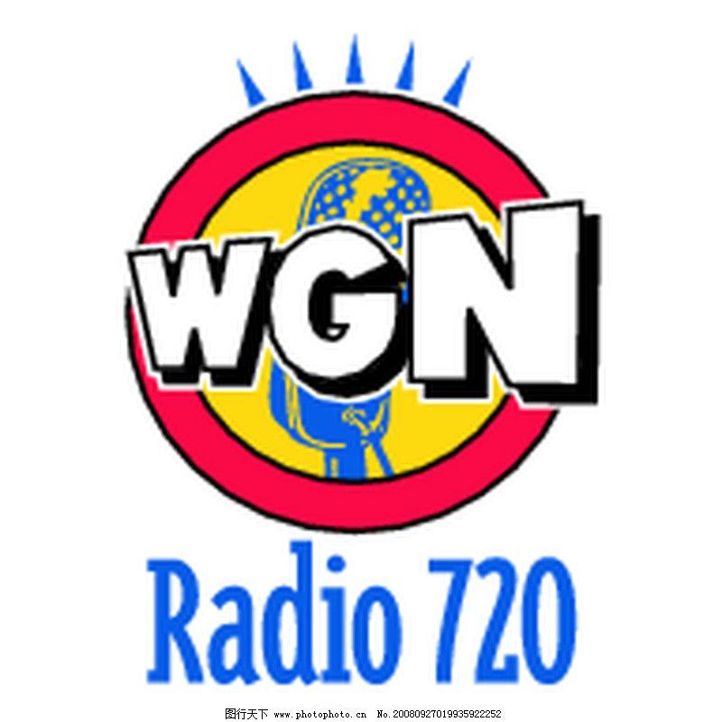 全球广播电台矢量标志0385