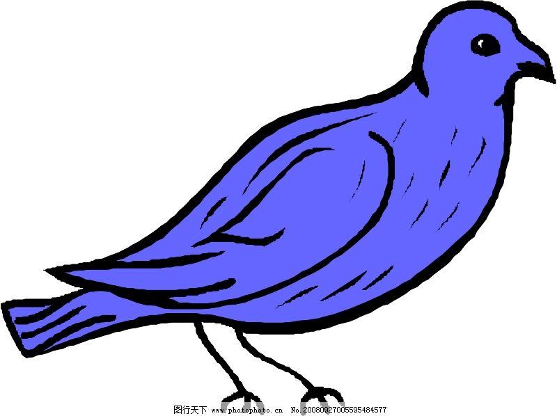 鸟类动物1156_其他_矢量图_图行天下图库